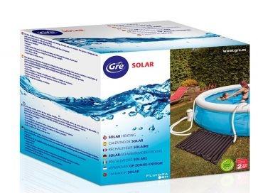 Calentador solar piscinas hinchables Gre