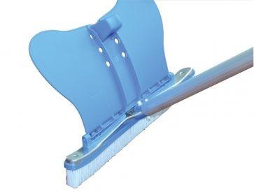 Cepillo piscina reforzado curvo deflector Dpool