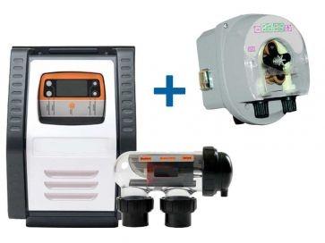 Clorador salino Salt Expert E-Series + Bomba pH E-Series Ctx Certikin