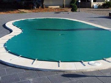 Cobertor invierno para piscinas