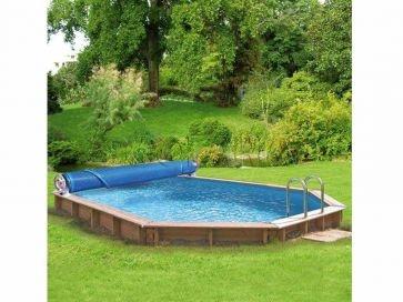 Enrollador Gre para manta térmica piscinas elevadas Luxe
