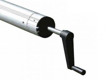 Tubo enrollador telescópicos manual de piscina