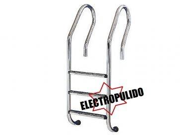 Escalera piscina mixta electropulida