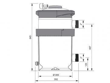 Filtro de cartucho piscina Astralpool NanoFiber