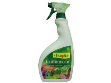 Insecticida Triple acción 750 ml Flower