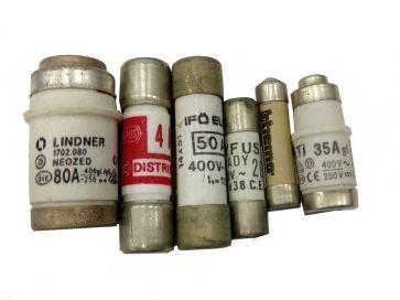 Fusibles cilíndricos de uso general para sobrecargas