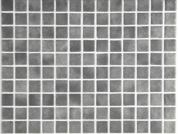 Gresite para piscina gris niebla 25 x 25 mm