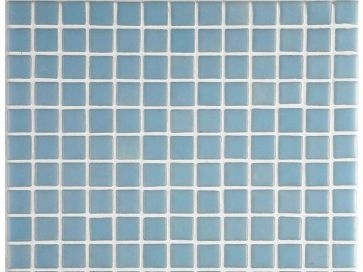 Gresite para piscinas Azul liso 35 x 35 mm