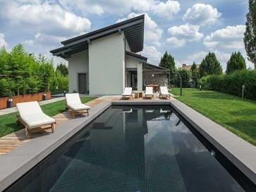 Gresite para piscinas negro liso 30 x 30 mm