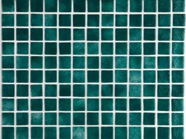 Gresite para piscinas verde niebla 25 x 25 mm