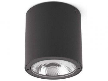 Lampara de techo LED Faro Barcelona gris