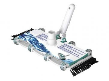 Limpiafondos manual Gre flexible con cepillos laterales
