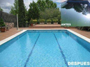 Limpieza de piscina en Madrid