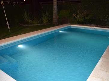 Luz led para piscina