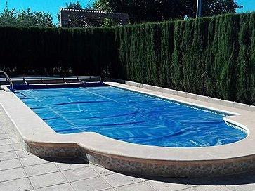 Manta térmica piscina barata Classic 600  micras con orillo