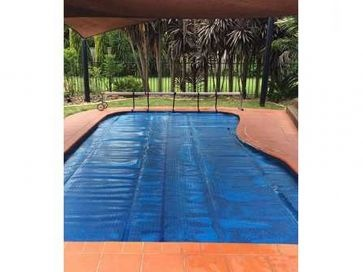 Manta térmica solar recortable piscina