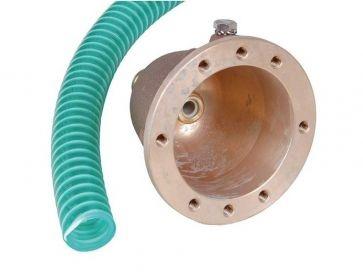 Nicho en bronce para preinstalación de pulsador neumático Fitstar