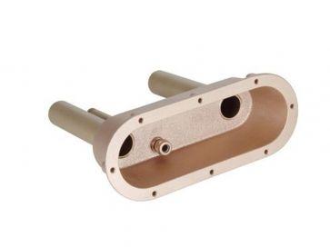 Nicho para preinstalación de placa mandos de pulsador neumático Fitstar