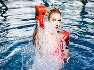 Guantes de boxeo  para piscina Aquagym Aquatic boxing Waterform