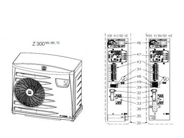 Recambios de bomba de calor Zodiac Z300