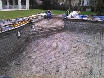 Reparación de piscinas hormigón