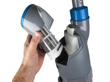 Robot Limpiafondos Gre Super Vac inalámbrico recargable 45 min