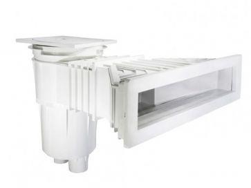 Skimmer Norm boca slim 17,5L en ABS piscina de hormigón Astralpool