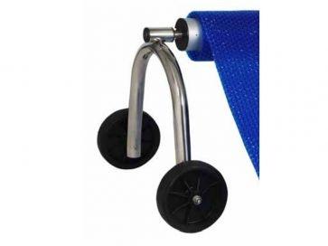 Soportes para los tubos enrollador de piscina