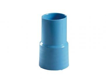 Terminal manguera de Ø  38 mm azul para piscinas Astralpool