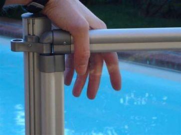 Vallas de metacrilato para piscinas