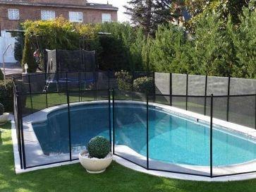 Vallas para piscinas desmontables seguridad para niños en piscinas